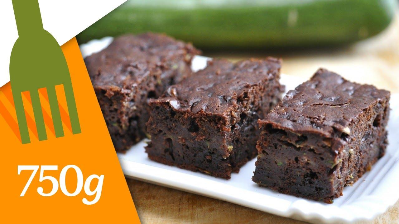 Recette De Gâteau Au Chocolat Et à La Courgette 750g Youtube