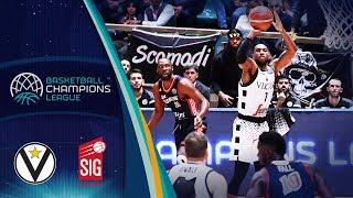 Segafredo Virtus Bologna v SIG Strasbourg - Full Game - Basketball Champions League 2018-19