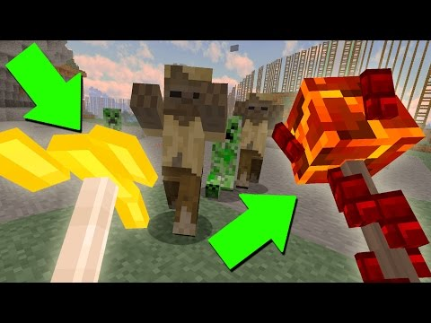 The Magic Update Minecraft NEEDED (16 New Magic Staffs)