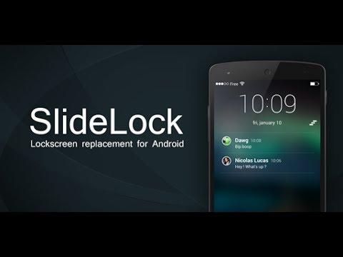 SlideLock - отличная замена экрана блокировки в Android