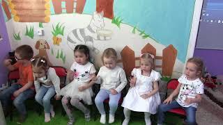 Урок английского для малышей 3-4 г. Тема