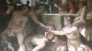Sacrifice Of Noah-Sistine Chapel Ceiling Painting By Michealangelo-Decoded By Gerone W.