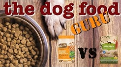 Dog food Mash-up Nutrish vs Merrick