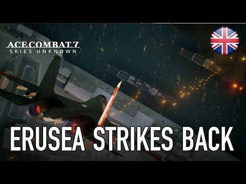 Ace Combat 7 - PS4/XB1/PC - Erusea strikes back (Gamescom 2017 English Trailer)