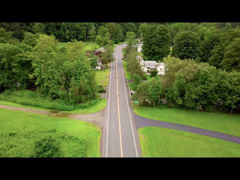 East Branch New York - Campsites Drone View With Mavic Pro