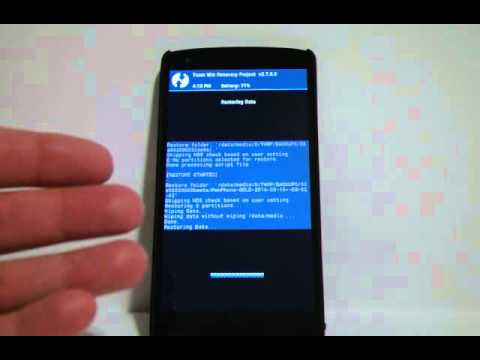 How to Factory Reset Pwn Phone