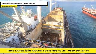 Gemi Bakım Onarımı Nasıl Yapılır - Time Lapse - İKM Produksiyon
