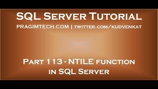 Sql Server Video Tutorial Playlists Link – Icalliance