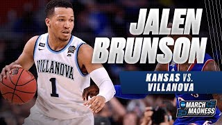 Villanova's Jalen Brunson leads the Wildcats to the National Championship Game