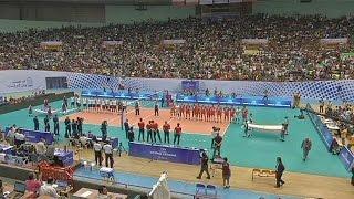 إيران تمنع النساء من حضور مباراة لكرة الطائرة   20-6-2015