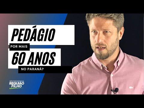 Querem pedagiar as estradas do Paraná por mais 60 anos