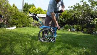 Brompton Bicycle - The Canine Assisted Brompton Fold