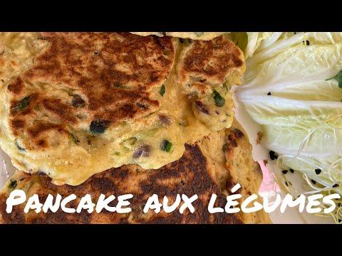 pancake-aux-légumes-vegan