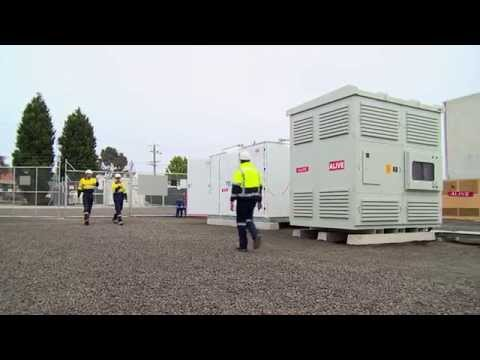 Innovative hybrid grid energy storage and diesel generation system for AusNet Services