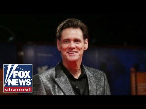 Jim Carrey reveals portrait of Trump as wicked witch