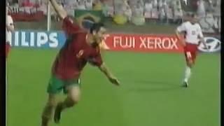 Mondiali 2002 Portogallo-Polonia 4-0 - World Cup 2002 Portugal-Poland 4-0 highlights
