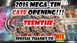 2015 Mega-Tin CASE Opening - TeemTHE