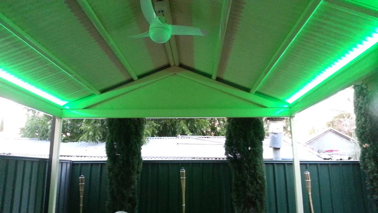 Pergola Lighting Youtube