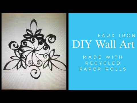 Wall art easy diy youtube for Wall drawings simple