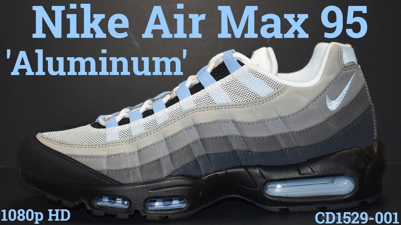 air max 95 black aluminum anthracite