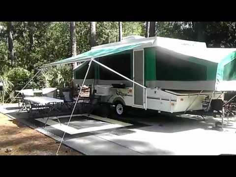 Video Tour Of Our Coachman Clipper Pop Up Camper Youtube
