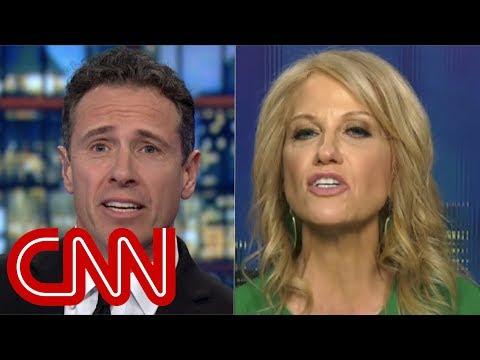 Cuomo and Conway spar over Trump's 'tough people' remark
