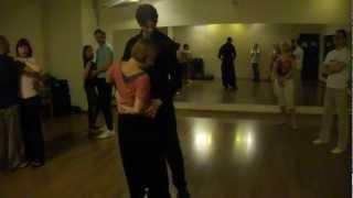 Танец бачата видео, поворот. Bachata dancing video.