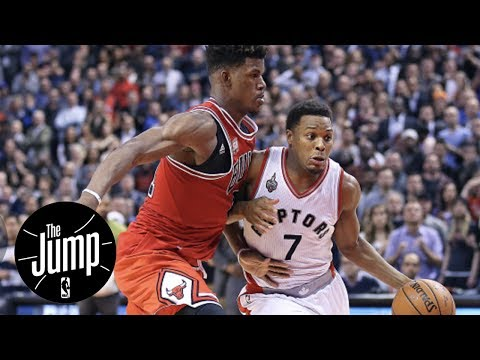 Jimmy Butler Recruiting Kyle Lowry To Chicago Bulls?   The Jump   ESPN