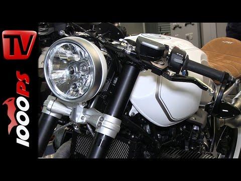 Wunderlich BMW R nineT Umbau - Teile | Motorräder Dortmund 2015