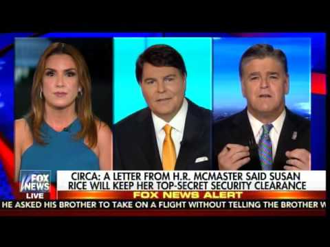 Sara Carter on McMaster: He Allowed Susan Rice to Continue her Secret Clearance