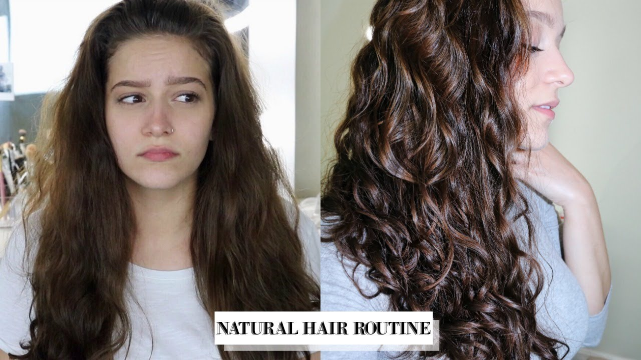 My Wavy Curly Hair Routine Favorite Products 2b 2c Youtube