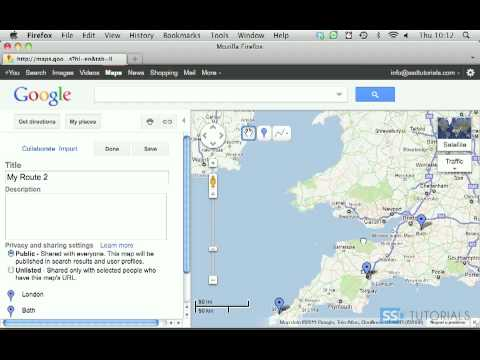 route planner with google maps youtube