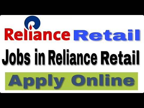 Jobs in Reliance Retail II How to Apply Online II Private job 2018 II Learn Technical