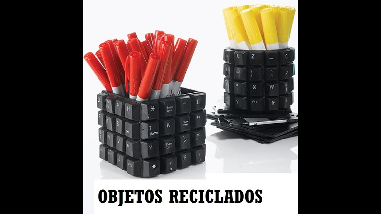 Objetos Reciclados Ideas Para Reciclar Objetos O Muebles Youtube - Ideas-para-reciclar-cosas