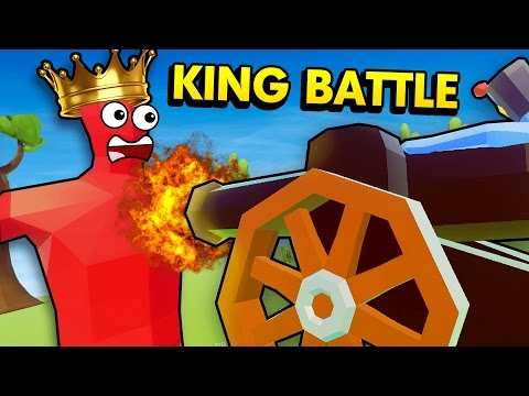THE KING UNIT CHALLENGE IN TABS! (Totally Accurate Battle Simulator / TABS Funny Gameplay)