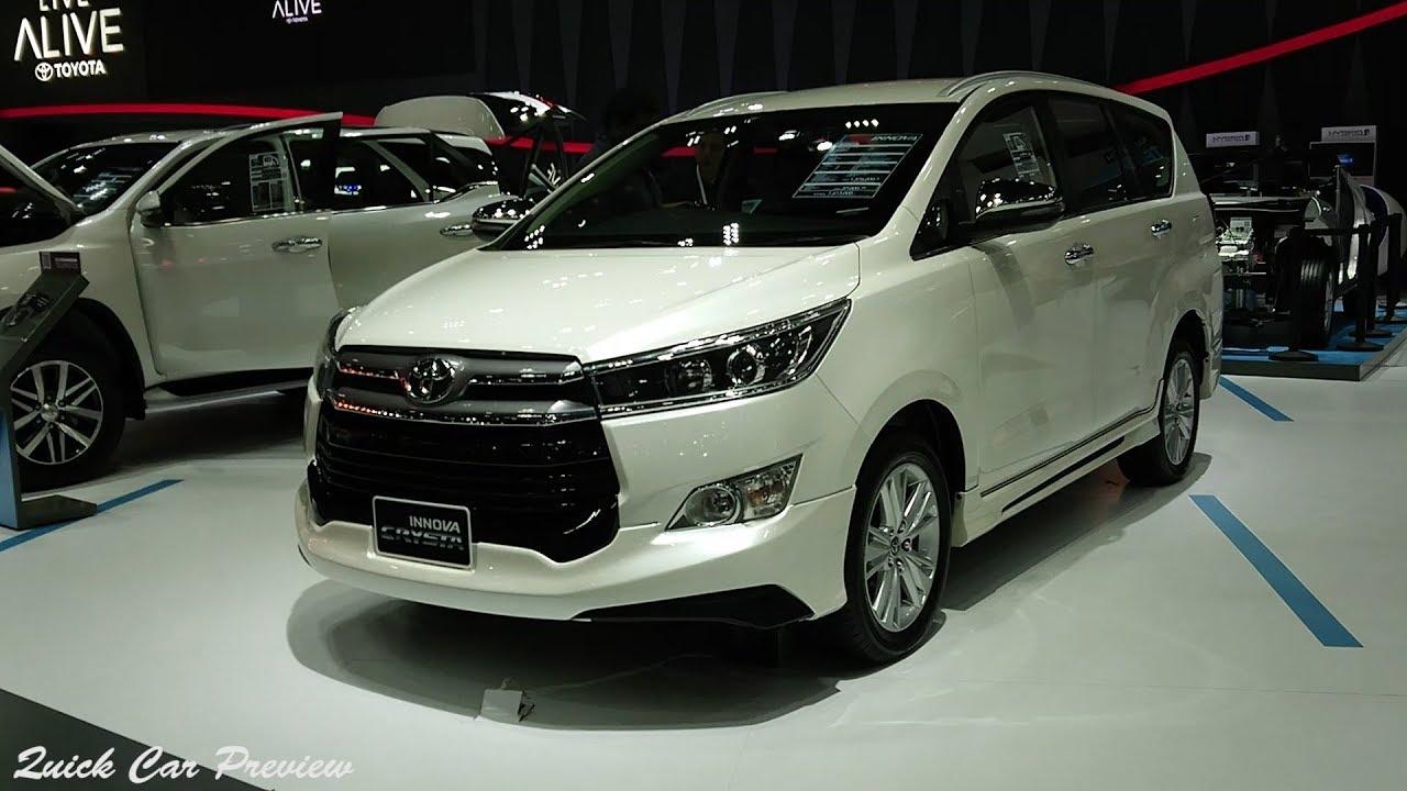 All New Kijang Innova V Diesel Grand Avanza Matic Quick Preview 2018 Toyota 2 8v Youtube