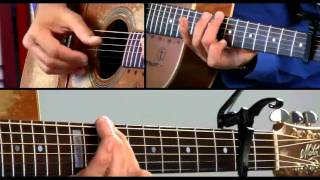Tommy Emmanuel Guitar Lesson - #8 Haba Na Haba Breakdown 1 - Little by Little