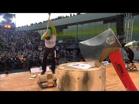 بطولة عالمية لتقطيع الخشب في هامبورغ  - 22:21-2017 / 5 / 21