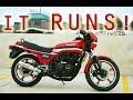 It Runs! Pt 3/3 GPZ-550 Garage Find 1983 Kawasaki KZ