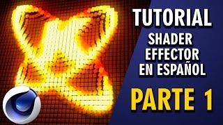 Tutorial Shader Effector Cinema4D en español ::: Parte 1