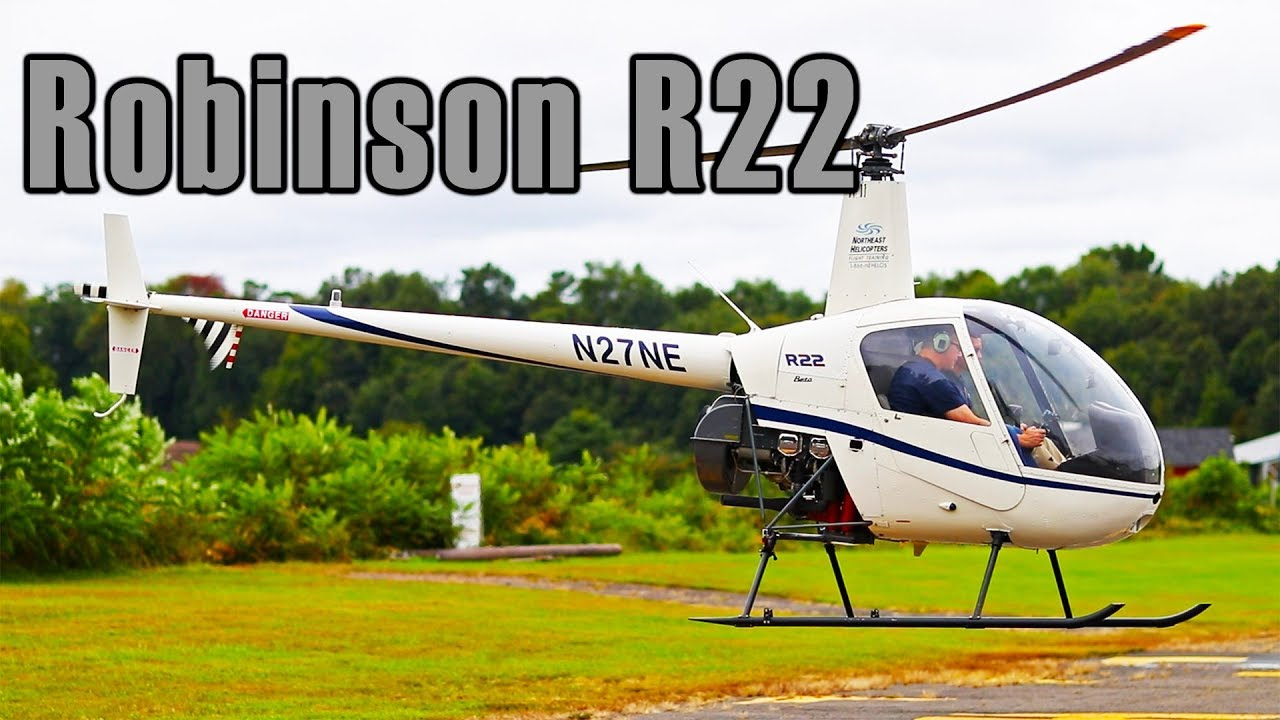 Robinson R22 Helicopter review, flight and how to fly