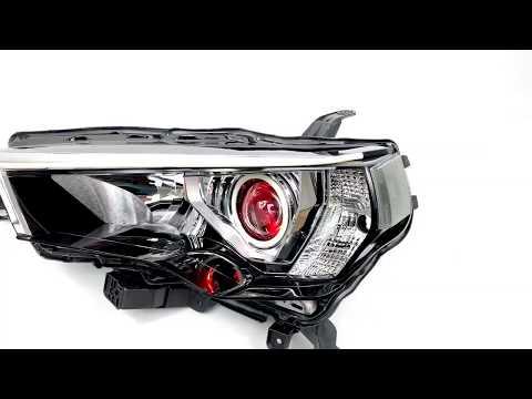 Toyota 4Runner MLED 2.0 Conversion -  Profile Pivot Strips & Halos +Profile Prism Demon Eyes