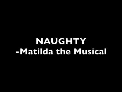 Naughty - Matilda the Musical (Instrumental)