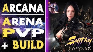 Arcana PVP - 1v3 Dirty Fight - Lost Ark Online [RU]