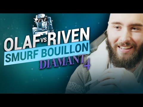 Vidéo d'Alderiate : [FR] ALDERIATE & AKABANE - SMURFING BOUILLON - OLAF VS RIVEN - NON AUX ARAIGNÉES