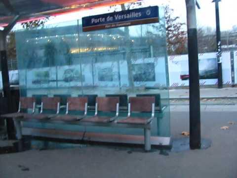 dans le tramway t2 porte de versailles paris youtube. Black Bedroom Furniture Sets. Home Design Ideas