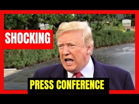 BREAKING 🔴 President Trump SHOCKING Press Conference at the White House