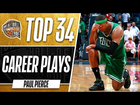 Paul Pierce Top 34 Plays Of His Career!