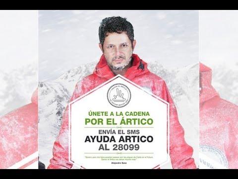 Alejandro Sanz viaja al Ártico