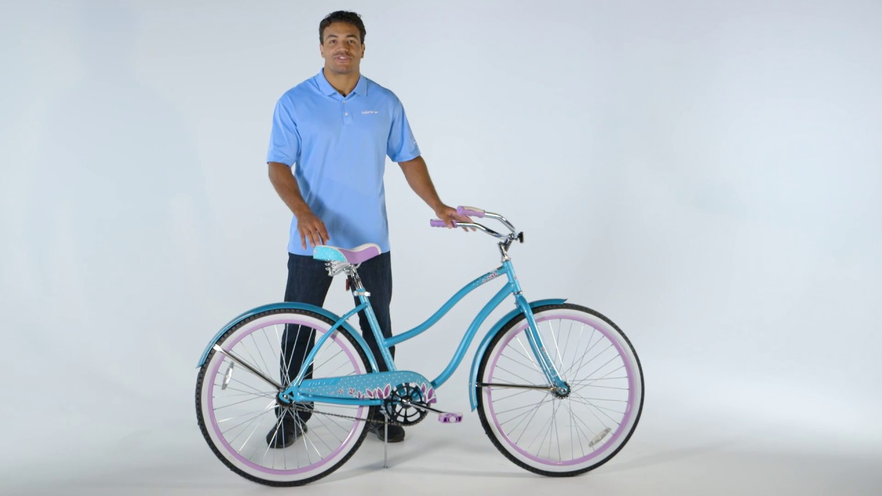 b582e0c0049 Huffy Assembly Single Speed Cruiser Bike - YouTube